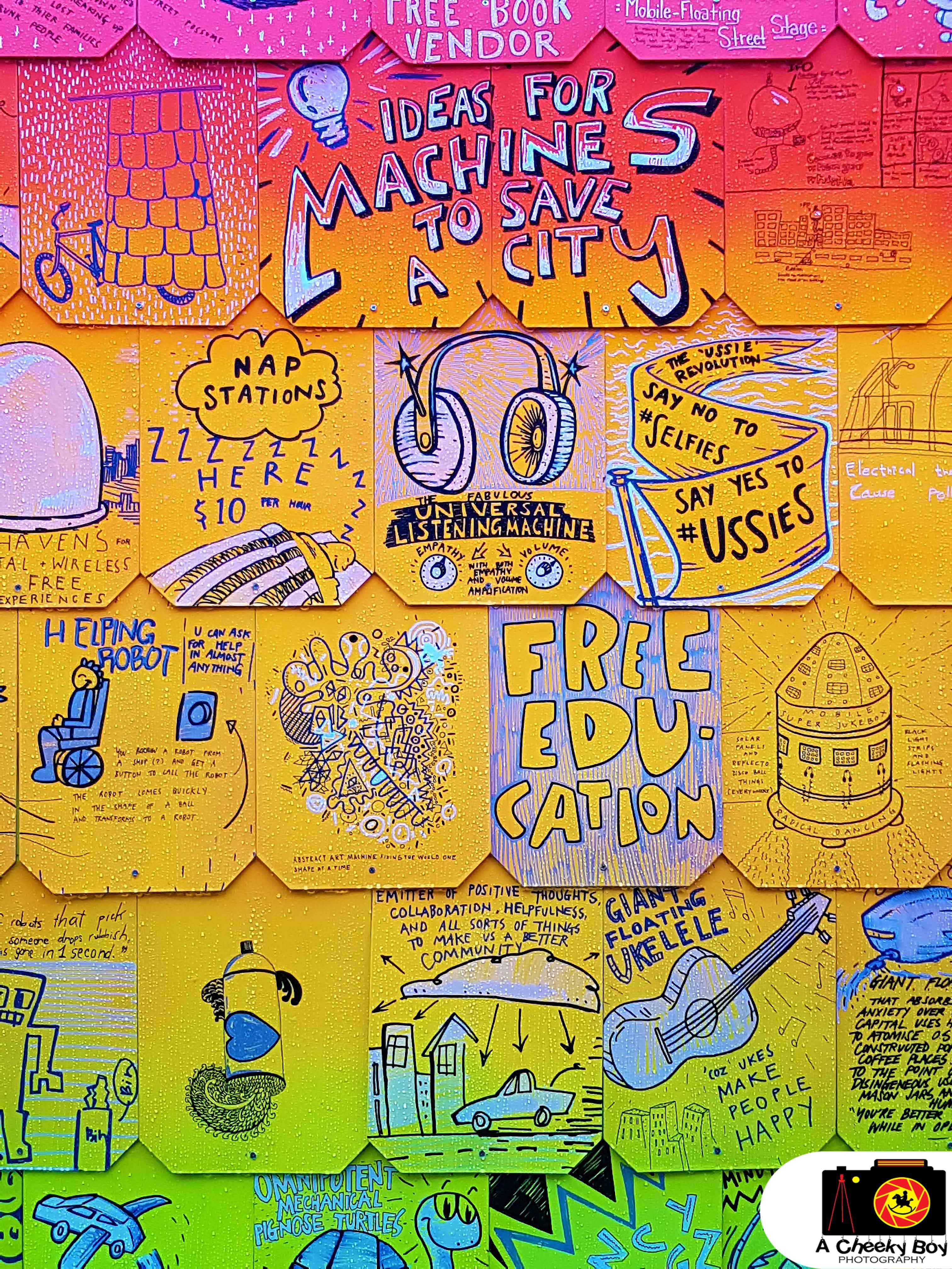 Street Wall Art – A Cheeky Boy Photography